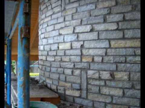 Pietreesassi: rivestimento in pietra di luserna 2 by pietreesassi