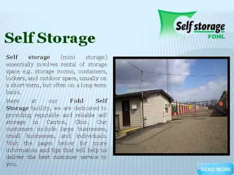 Self Storage Canton, Ohio