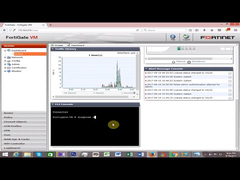 Fortigate Firewall Allow Specific Users To Access Internet - Part 4