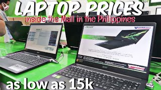 LAPTOP PRICE inside the MALL in the PHILIPPINES | Cyberzone SM Megamall