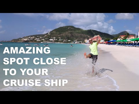How To Walk To Great Bay Beach In St  Maarten