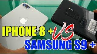 Kamera Samsung S9 plus VS Iphone 8 plus