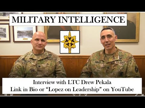 Leadership In Military Intelligence With LTC Drew Pekala (#Branchseries Episode 9)