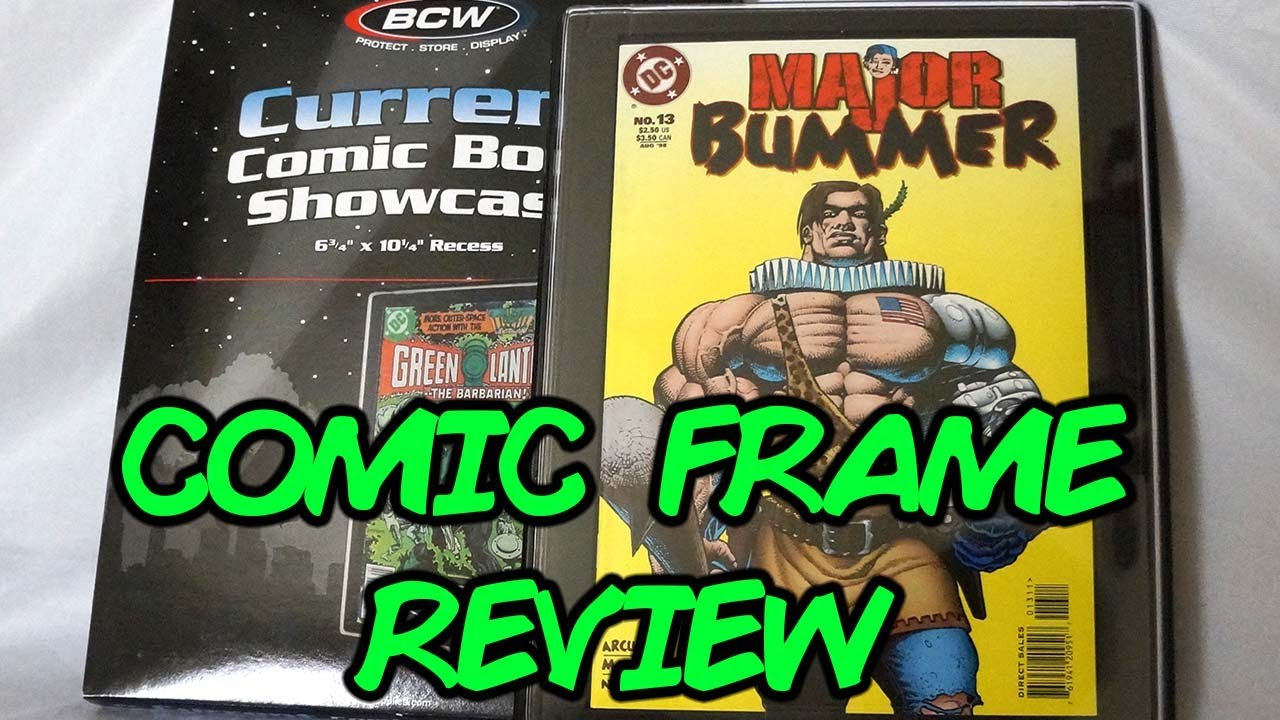 BCW Comic Book Frame Showcase Review - YouTube