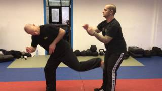 Release vs a Side Choke with Amnon Darsa at Institute Krav Maga Netherlands.
