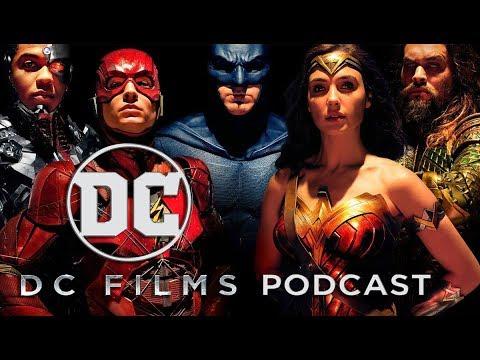 DC Films Podcast Episode 6- Justice League Comic-Con Trailer Breakdown/New DCEU Films Announced!