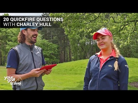20 Quickfire Questions with Charley Hull