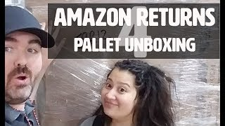 Part 4: We Bought a Truckload of Amazon Return Pallets: Let's Unbox One!