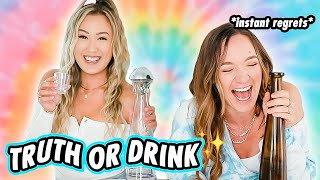 TRUTH OR DRINK 🥂 Drunk Q&A with Alisha (aka an exposé)