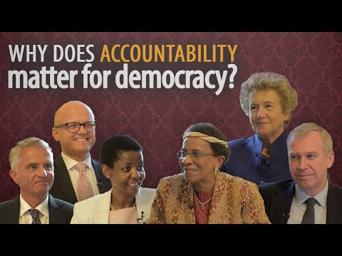Why does accountability matter for democracy?