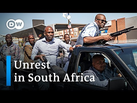 Xenophobic violence hits South Africa | DW News