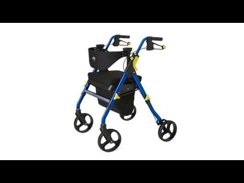 Medline Empower Rollator Review Video
