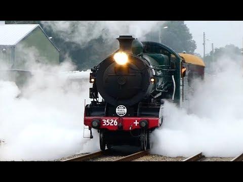 Australian Steam Trains: Hunter Valley Steamfest, Maitland