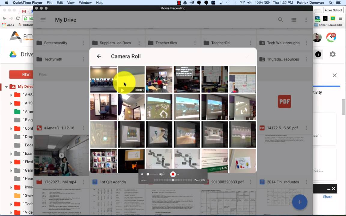 Uploading a Video to Google Drive from Computer or iPad - YouTube