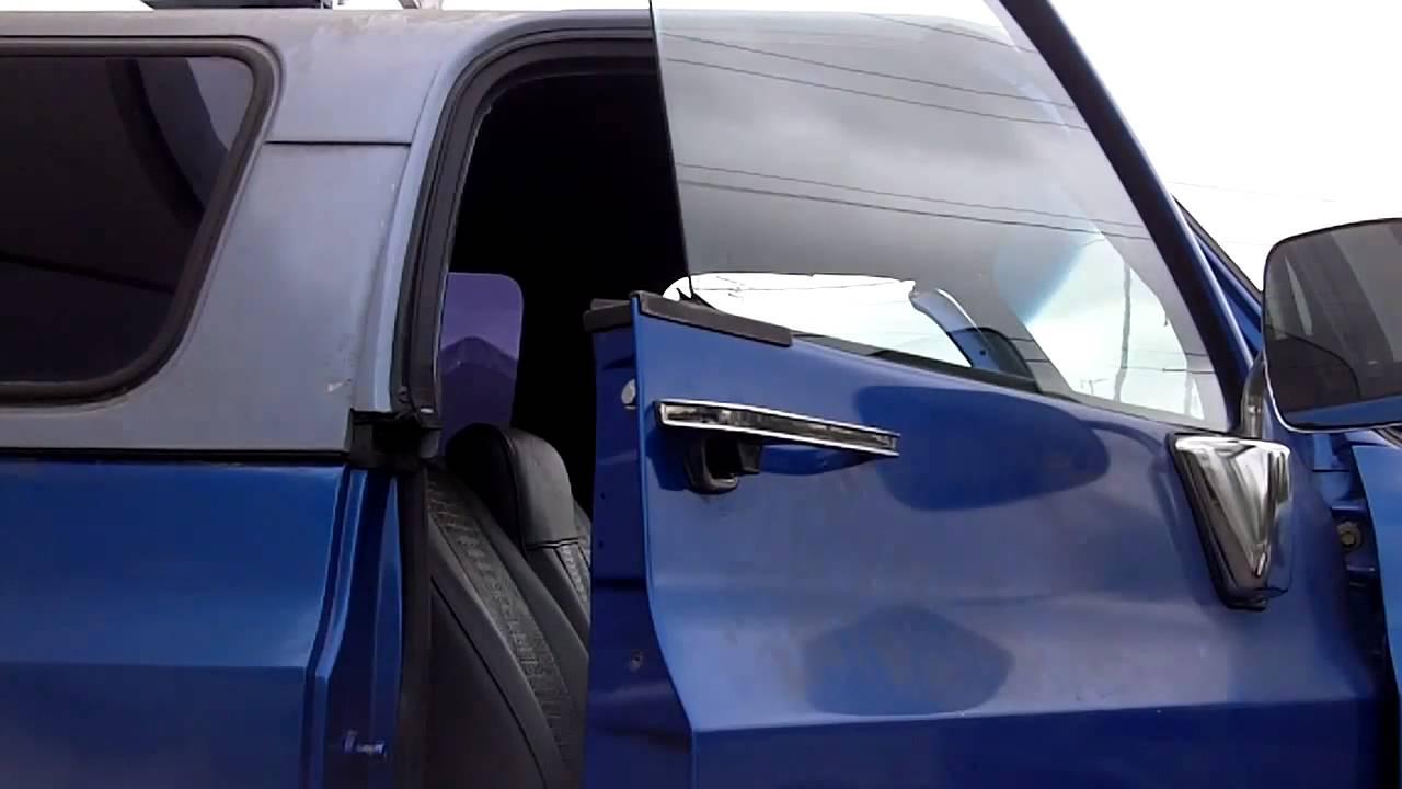 1pc door glass kit installation for the 1973-75 K-Blazer ...
