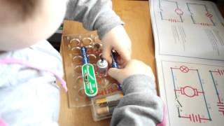 Игра и обучение на электронном конструкторе. Поиск альтернативного источника энергии.