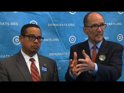 DNC chair Tom Perez's first press conference
