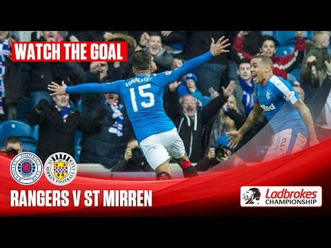Goal! Forrester breaks his duck to give Gers victory