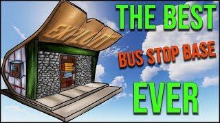 RUST BASE - THE BEST BUS STOP BUILD EVER *GLASS WINDOW EXPLOIT*
