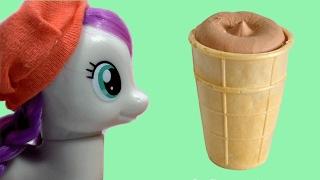Май Литл Пони Мультик Шоу Веселая Кухня Мороженое Пломбир Видео для детей