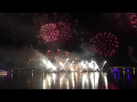 Happy New Year 2021/ Fireworks /Atlantis Hotel Palm Jumeriah Dubai