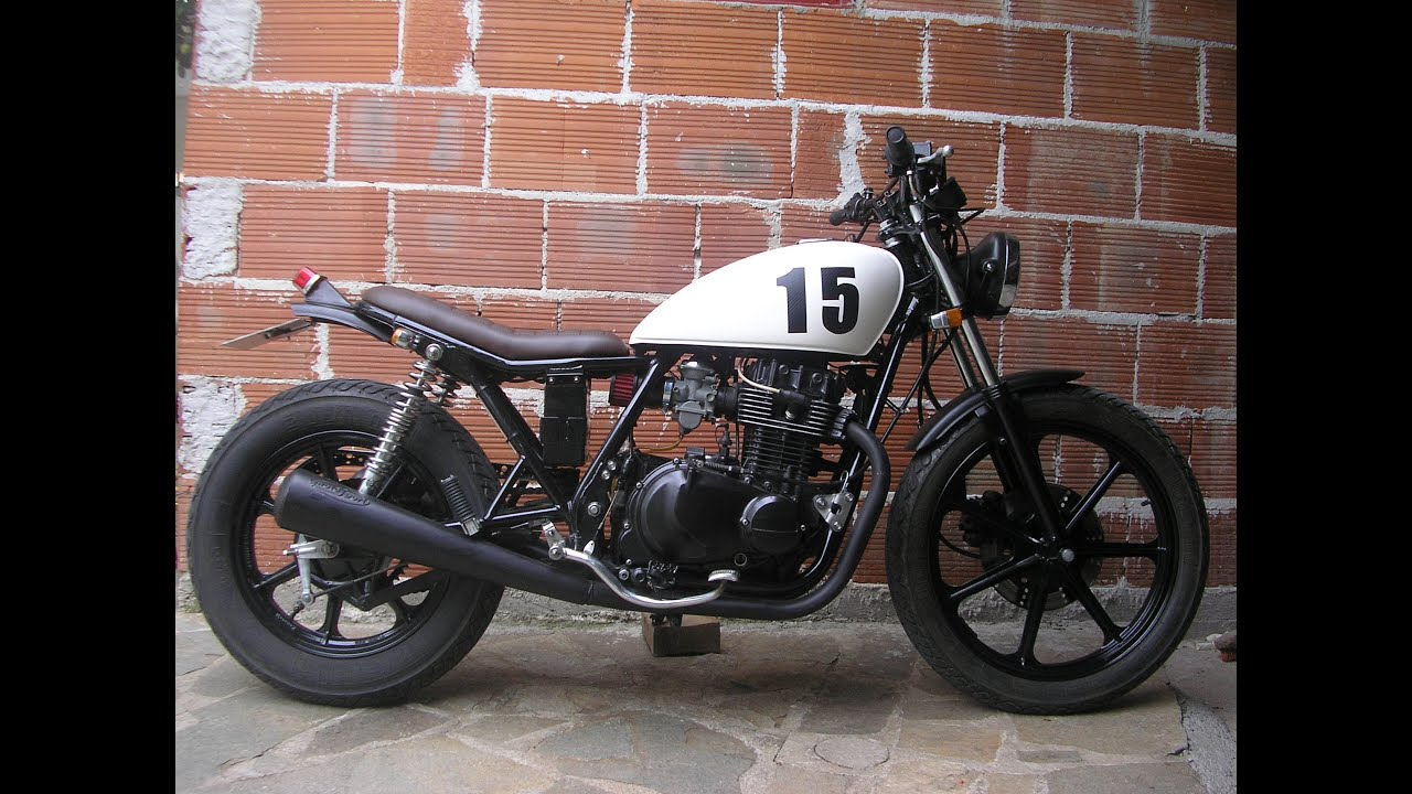 kawasaki kz 400 ltd cafe racer - youtube