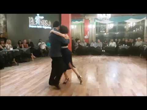 Milonga de los Domingos - 22/04/2019 - Paola Aguilera y Leonardo Sebastian Auza / 1 de 3