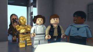 Flight of the Falcon | LEGO Star Wars: Droid Tales | Disney XD