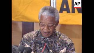 SOUTH AFRICA: ANC CLAIMING OUTRIGHT VICTORY IN LOCAL ELECTIONS