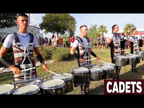 DCI 2018: CADETS  IN THE LOT San Antonio