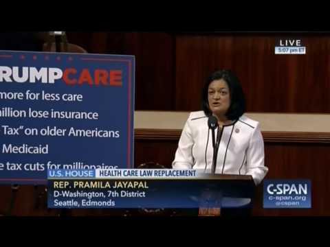 Congressional Progressive Caucus Remarks on Eve of #TrumpCare Vote