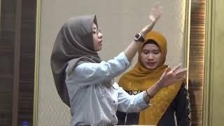 Gerakan Dirigen Lagu Indonesia Raya Saat KH Ma'ruf Amin Datang