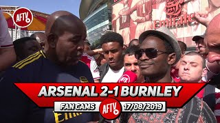 Arsenal 2-1 Burnley | Lacazette Showed Determination & Strength To Get His Goal!