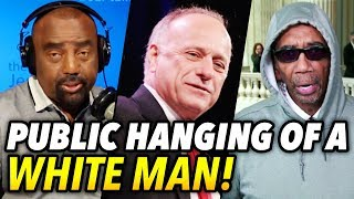 Public Hanging of a White Man: BETAS & Thugs Attack Steve King!