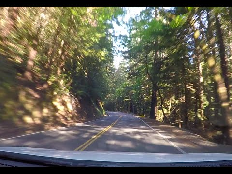 Driving from Cupertino to Santa Cruz