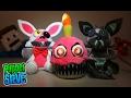 Five Nights at Freddy's FNAF Series 2 Exclusive Plush Funko Nightmare Mangle, Cupcake, Phantom Foxy