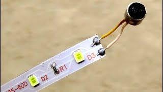 Make Led Strip Music Light Sound Detector