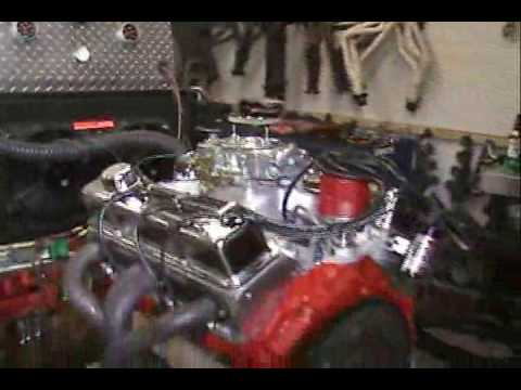 Live Run 327 Chevy