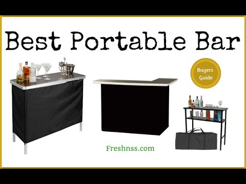 Best Portable Bar (2020 Buyers Guide)
