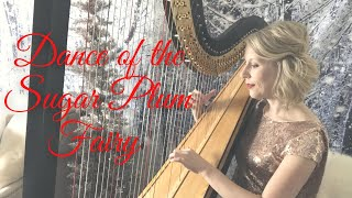 """Dance of the Sugar Plum Fairy"" from the Nutcracker played on the harp"