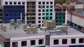 Видео Стеновые панели для Жилого комплекса 'Силы Природы'(Адрес объекта: ЖК