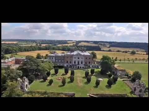 Drone Footage Of Copped Hall Epping Essex
