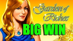 Online Casino 15 euro bet BIG WIN - Garden of riches HUGE WIN