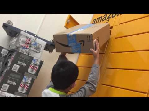 How to use an Amazon Locker: The Amazon Locker Experience