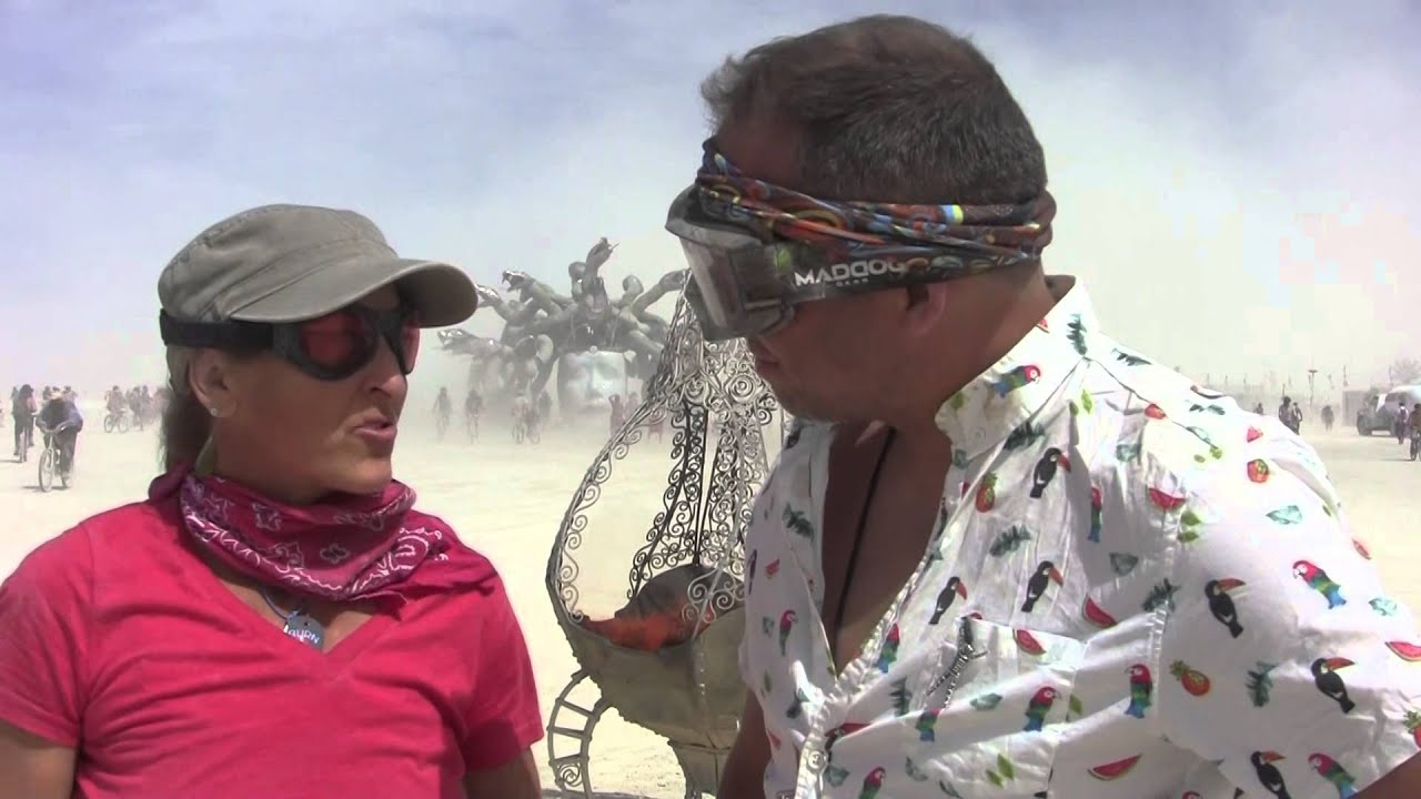 Hub Culture Camp at Burning Man 2015 with Shenanigans at the Cauldron