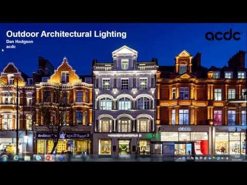 Outdoor Architectural Lighting Webinar