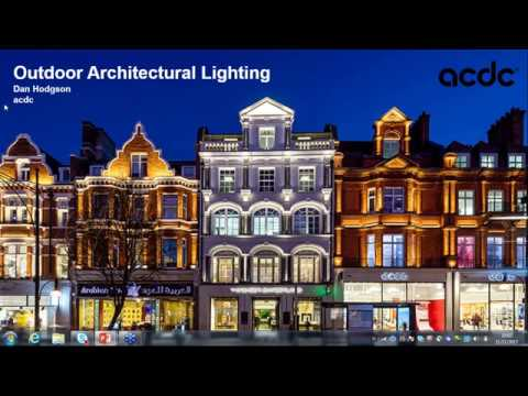 Outdoor Architectural Lighting Webinar