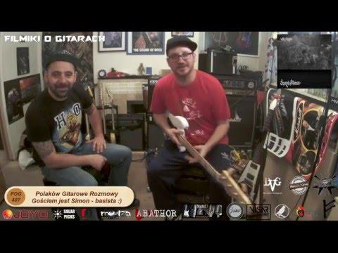Polaków Gitarowe Rozmowy - Basista we Mgle -  SIMON - FOG 407