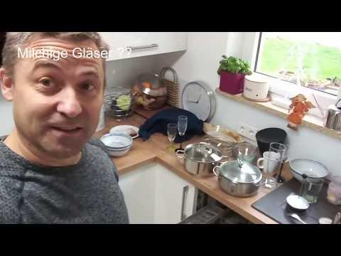 Sehr Geklärt: Milchig, trüb-matte Gläser in der Spülmaschine - YouTube FF38