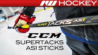 CCM Super Tacks AS1 Stick Line // On-Ice Insight